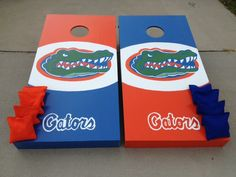 Florida gators cornhole boards