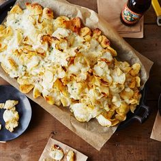 Blue Cheese Potato Chips Recipe on Food52 recipe on Food52 (See recipe for Homemade Potato Chips, also on this board)