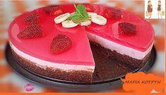 Συνταγές για διαβητικούς και δίαιτα: ΦΡΑΟΥΛΕΝΙΑ ΜΠΑΝΟΑ..!!! Greek Desserts, Candy Recipes, How To Stay Healthy, Sugar Free, Party Time, Healthy Living, Cheesecake, Deserts, Sweets
