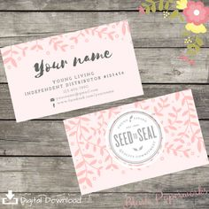 Pin by charlotte lemieux on essential oil pinterest living young living essential oil business card template download custom reheart Choice Image