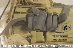 Concealed Carry Brave Response Gun Holster Top Concealed Carry Holster - Brave Response is the holster that is changing the CCW industry. It's changing the way gun owners carry firearms every day. Best Concealed Carry Holster, Iwb Holster, Hunting Rifles, Guns And Ammo, Self Defense, Concealer, Hand Guns, Carry On, Brave