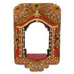 Shilp-Kala Handcrafted Multi Colored Diya Jharokha  http://goo.gl/4Vr8KI