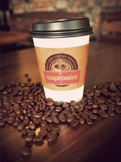 Perfect morning for a hot cup of our best selling Espresso with Attitude blend to start this cloudy Sunday morning