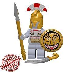 Brickforge Greek Hoplite (Macedonian)- Historical Warrior Pack (Minifigure Not Included)