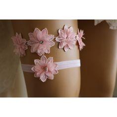 Wedding Garter Pink Lace Bridal Garter,,Bridal Lingerie,The Same Lace... ($35) via Polyvore featuring intimates, lacy lingerie, wedding lingerie, bridal lingerie, garter lingerie ve lace lingerie