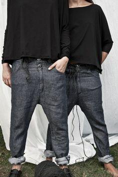 Denim Flax Jeans