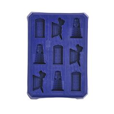 Doctor Who Ice Cube Tray: I would use the shit out of this.