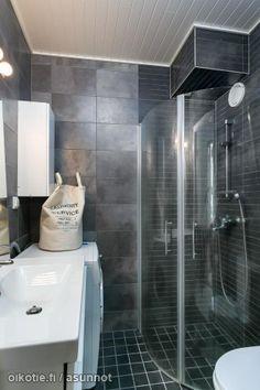 Tumma kylpyhuone - Oikotie Sisustus | Oikotie Sisustus