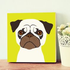 Quadro - Pug - Decohouse