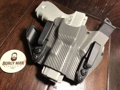 Our products are handmade in the USA with genuine Kydex thermoplastics and premium fasteners. Kydex, Custom Holsters, Iwb Holster, Personal Defense, Sidecar, Tactical Gear, Carbon Fiber, Weapon, Hand Guns