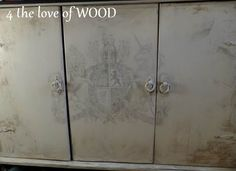 4 the love of wood: AGING YOUR FINISH - tutorial