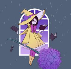pluviomancy witchsona by missusruin on DeviantArt