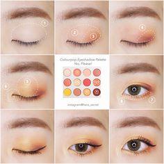 Skin Care Tips For Beautiful Skin Skin Care Tips For Beautiful Skin Korean Makeup Look, Asian Eye Makeup, Beauty Make-up, Natural Beauty Tips, Makeup Inspo, Makeup Tips, Magical Makeup, Eye Make Up, Makeup Looks