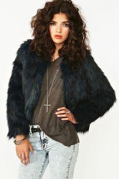 Rutilda Faux Fur Coat - I diee