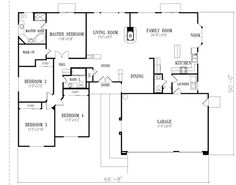 I Know This Is A Little Weird, But I Love Looking At House Plans For Some  Odd Reason. Love Master Area  That Is Why I Pinned It. Has A Good His Anu2026
