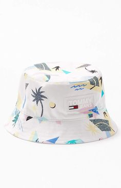 Hand Drawn Beautiful Rainbow Unicorn New Summer Unisex Cotton Fashion Fishing Sun Bucket Hats for Kid Teens Women and Men with Customize Top Packable Fisherman Cap for Outdoor Travel