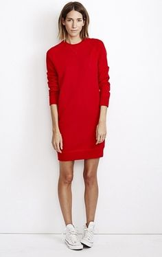 Marc Sweater Dress Fire by Cardigan New York