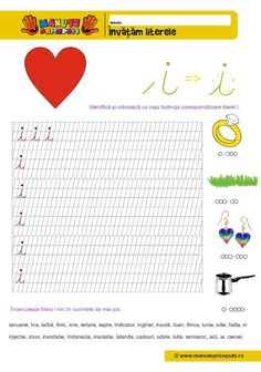 I Archives - Manute Pricepute Letter Worksheets, Worksheets For Kids, Homework Sheet, Cursive Letters, Learning Letters, Stories For Kids, Mathematics, Homeschooling, Lettering