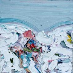 red-lipstick:  Gus Hughes (b. 1984, Ireland) - Klinghoffer III (Body In Snow), 2014  Paintings: Oil on Canvas  sooooo nice wow