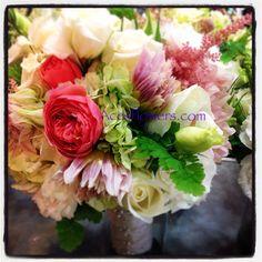 Meagan Marks bridal bouquet