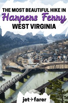 Looking for an awesome day trip from Washington, DC? Head to Harpers Ferry National Historic Park to hike the Maryland Heights trail! Click through to learn more about the most beautiful hike in the area, just an hour from DC. #unitedstates | west virginia travel | west virginia hiking | west virginia hikes | harpers ferry west virginia | wv | day trips from washington dc | weekend trip ideas | west virginia road trips | west virginia travel bucket lists