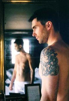 Adam Levine. Now get naked.