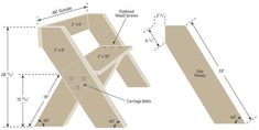 Plans to build your own Leopold bench for birdwatching and n.-Plans to build your own Leopold bench for birdwatching and nature photography Woodworking Workbench, Woodworking Projects Diy, Diy Wood Projects, Wood Crafts, Garage Workbench, Woodworking Patterns, Diy Outdoor Furniture, Diy Furniture Plans, Leopold Bench