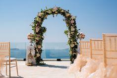 Santorini Greece Destination Wedding