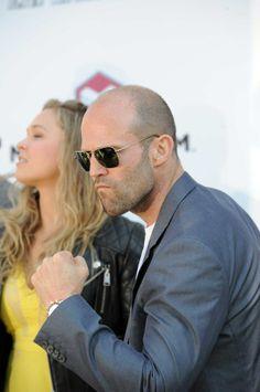 Et Jason Statham, il ne faut pas le chercher ! C'est clair ? 18 mai : Photocall The Expendables 3
