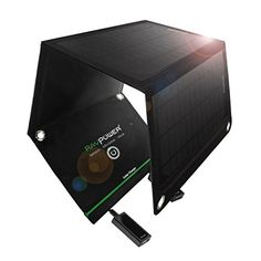 Solar Products For Camping - Camping For Foodies. RAVPower 15W Solar Charger with Dual USB Port (Foldable, Portable, iSmart Technology) http://www.campingforfoodies.com/solar-products-for-camping/