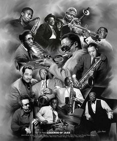 Legends of Jazz by Wishum Gregory