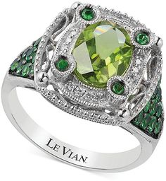 Le Vian Multi-Stone and Diamond Accent Ring in 14k White Gold (2-1/3 ct. t.w.)