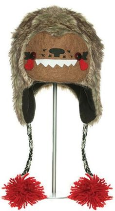 f0191ef2fec deluX Knitwits Bobby the Bigfoot Animal Hat for Adult Bigfoot Birthday
