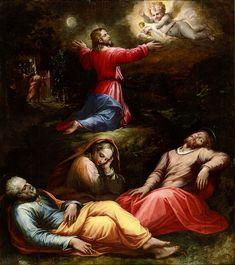Giorgio Vasari was born on this day (July 30) in 1511. This is his Garden of Gethsemane, 1570.  https://en.wikipedia.org/wiki/Giorgio_Vasari