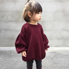 Toddler Kids Baby Girl Sweaters Blouse Lantern Long Sleeve Pullover T Shirt Tops Source by irenaananjeva girl outfits Outfits Niños, Baby Outfits, Fashion Outfits, Cute Kids Outfits, Fall Toddler Outfits, Fashion Games, Fashion Wear, Sweater Outfits, Fashion Boots