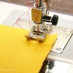 If all you've ever sewn since 9th grade home ec is a straight line (ME!) and pillow covers, this site has a bunch of great tutorials to help you learn to do more with your sewing machine.