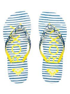 Roxy - Flip-Flops for Women Womens Flip Flops, Roxy, Slippers, Sandals, Board, Summer, Closet, Inspiration, Shoes