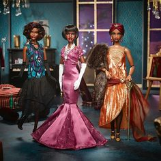 Check out the Selma DuPar James Barbie Doll from the Harlem Theatre Collection at the official Barbie website. Explore the world of Barbie today! Diva Fashion, Fashion Dolls, Burlesque, Barbie Website, Barbie Movies, Barbie Stuff, Doll Stuff, African American Dolls, African Dolls