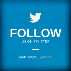 Follow us on Twitter @mums2be_sales