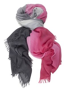 Bajra Ombre Scarf: Pink.... Try dying an exhisting pink scarf