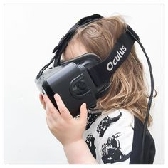 An awesome Virtual Reality pic! When real-life Mondays feel a bit too crazy.... We do VR and visit the moon. #virtualreality #vr #oculus #oculusrift #virtualworld #mkmonochromemonday #taleofboy #futuristic #thefuture by mutinykids check us out: http://bit.ly/1KyLetq