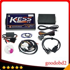 Car programmer tools KESS V2 V2.22 OBD2 Manager Tuning Kit HW V4.036 No Tokens Limited Master Version KESS V2 ECU chip tool