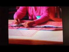 Georgia Bonesteel Lap Quilting. Love this technique, have done it on several quilts.