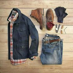 a real flannel shirt. red. new boots.or.gift card to browns for boots.
