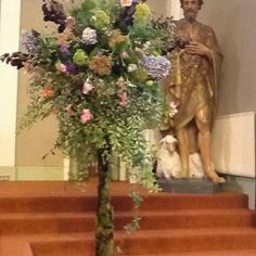 St John the Baptist church Waterford Castle, John The Baptist, Floral Wreath, Wreaths, Plants, Painting, Decor, Art, Art Background