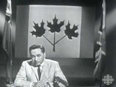 Courtesy of the CBC Archive Canadian Red Ensign, Canadian Soldiers, Union Flags, Union Jack, Calgary, Old Photos, Politics, Canada, History