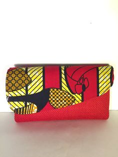 African Handmade Clutch by SimbaBCrafts on Etsy