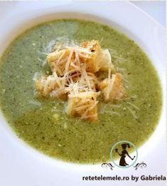 Cream Of Broccoli Soup, Cream Soup, Taste Of Home, Parmesan, Thai Red Curry, Yogurt, Ethnic Recipes, Food, Essen