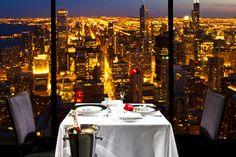 The Signature Room - John Hancock 95th Floor - Chicago, Illinois
