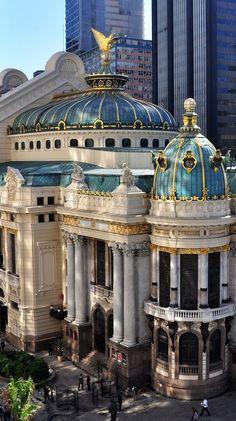 Teatro Municipal de Río de Janeiro, Brasil.                                                                                                                                                      Más